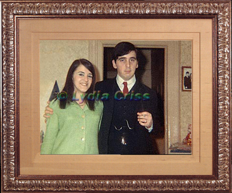 Lydia and Peter Christmas 1966